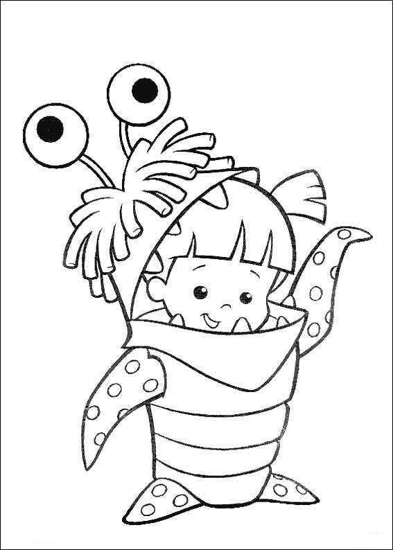 monsters inc coloring pages 57