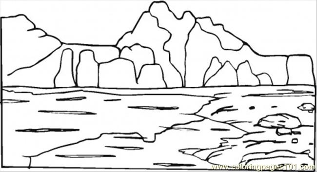 mountain coloring page free mountain coloring pages