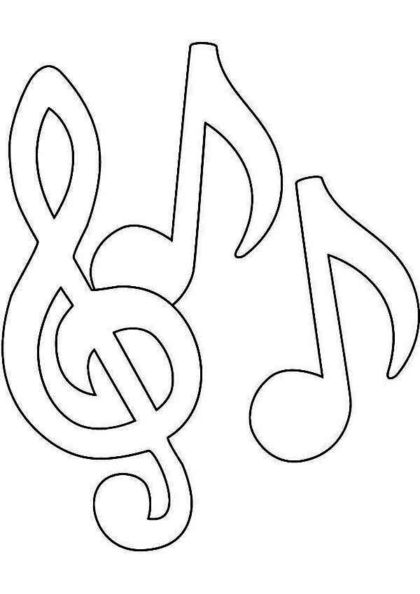 music notes coloring pages coloringaoduckdns music