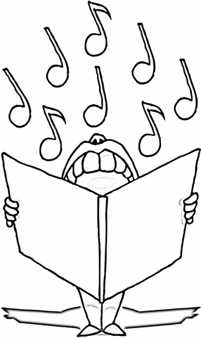musical notes coloring page free printable coloring pages