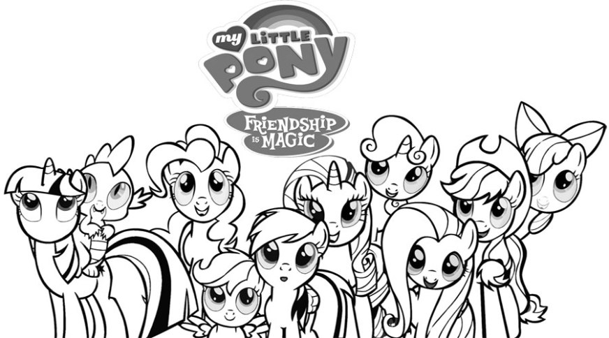 my pretty pony coloring pages at getdrawings free for