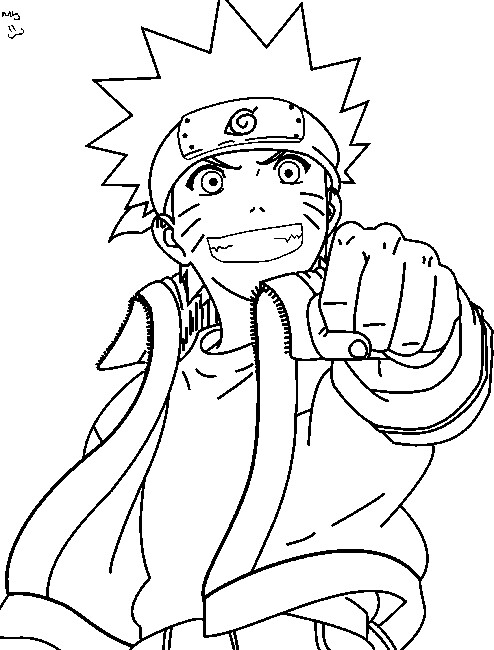 naruto coloring pages 8 danielmt123 flickr
