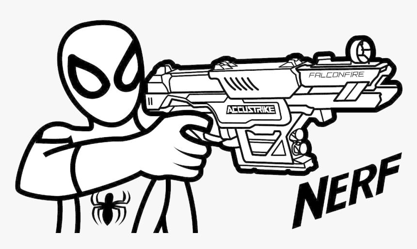 nerf gun coloring pages photos of pretty guns arilitv nerf
