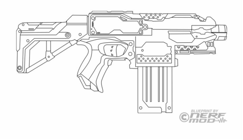 nerf logo png nerf gun coloring page transparent png
