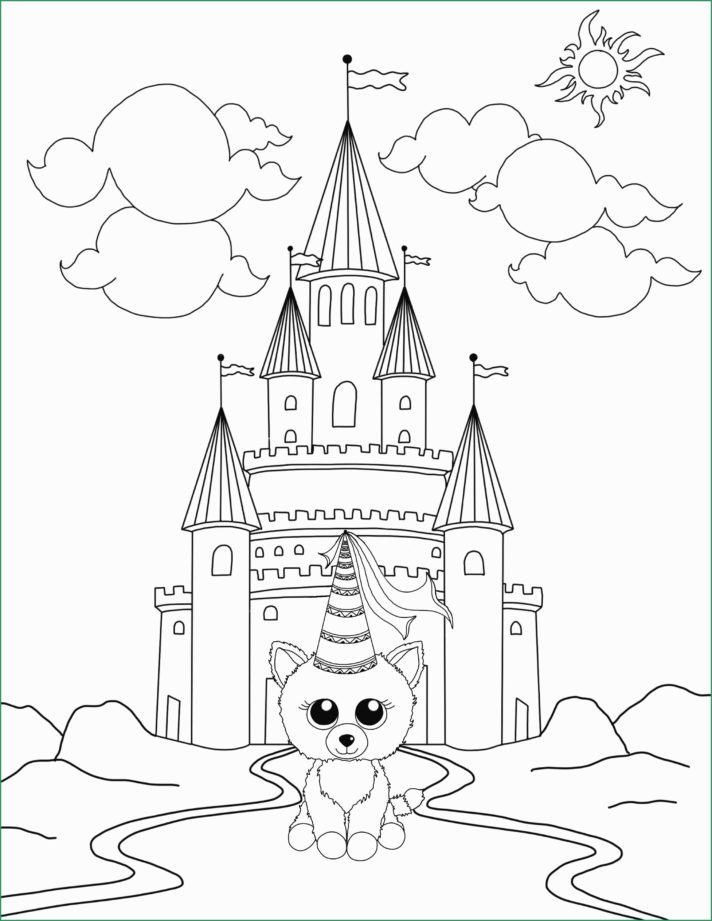 new coloring pages 74 most class beanie babies imagination