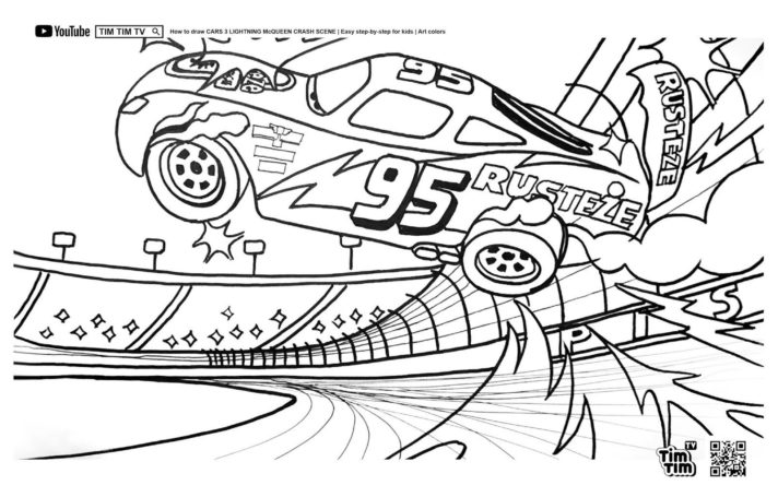 new coloring pages cars 3 printable colouring pagess