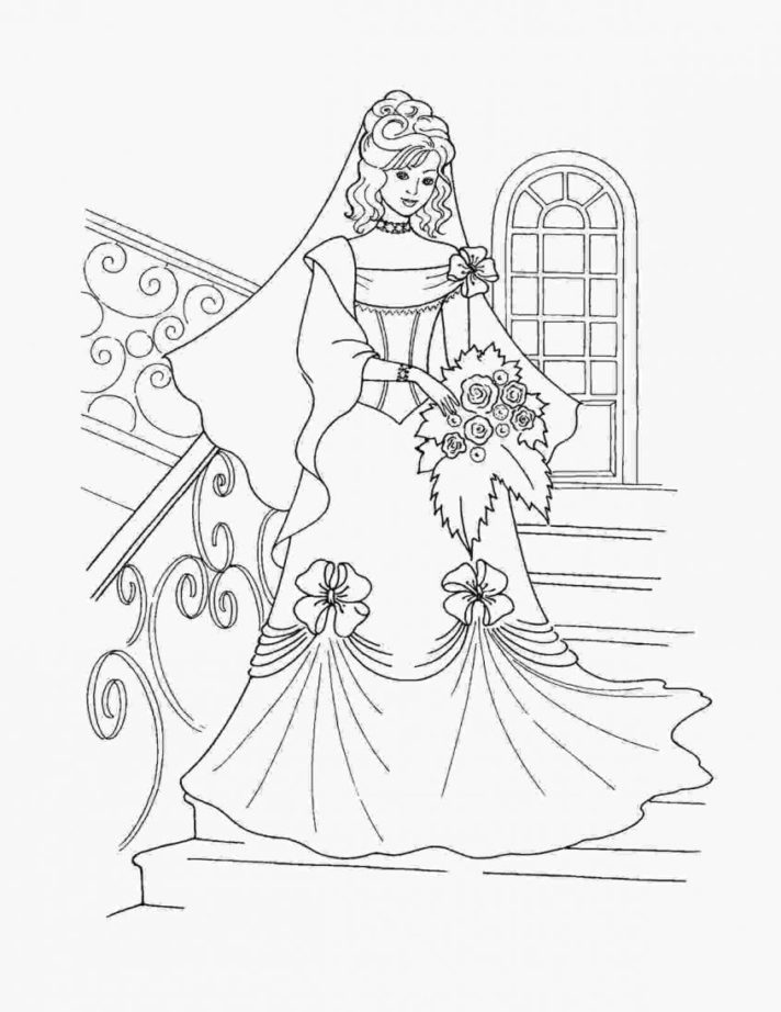new coloring pages easy princess simple disney cute