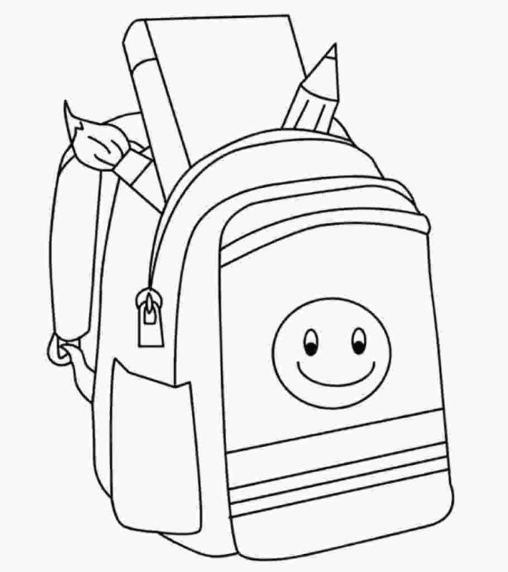 First Day Of School Coloring Pages Pictures - Whitesbelfast