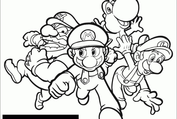 new coloring pages super mario bowser 2 brothers movie
