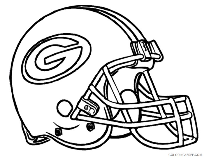 nfl coloring pages green bay packers coloring4free
