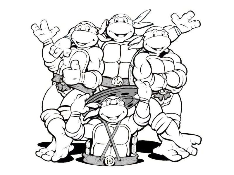 ninja turtles coloring pages leonardo ninja turtles t