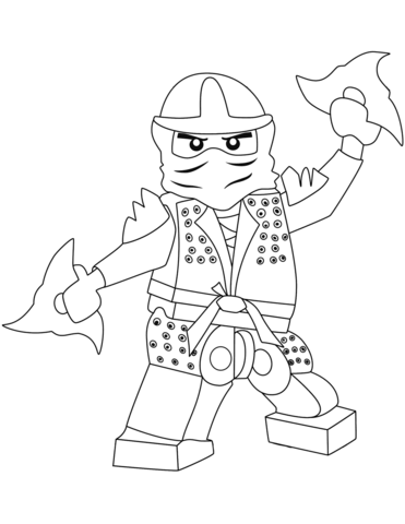 ninjago green ninja omalovnka free printable coloring pages