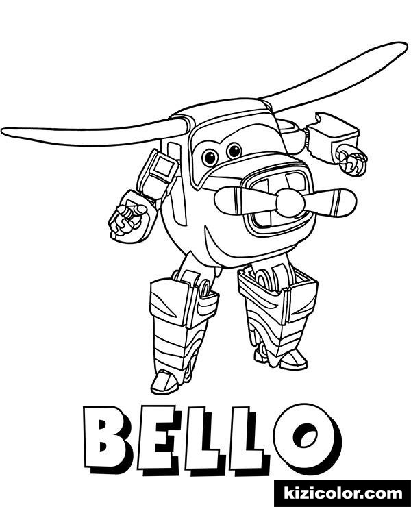 nowe super wings free printable coloring pages for girls and