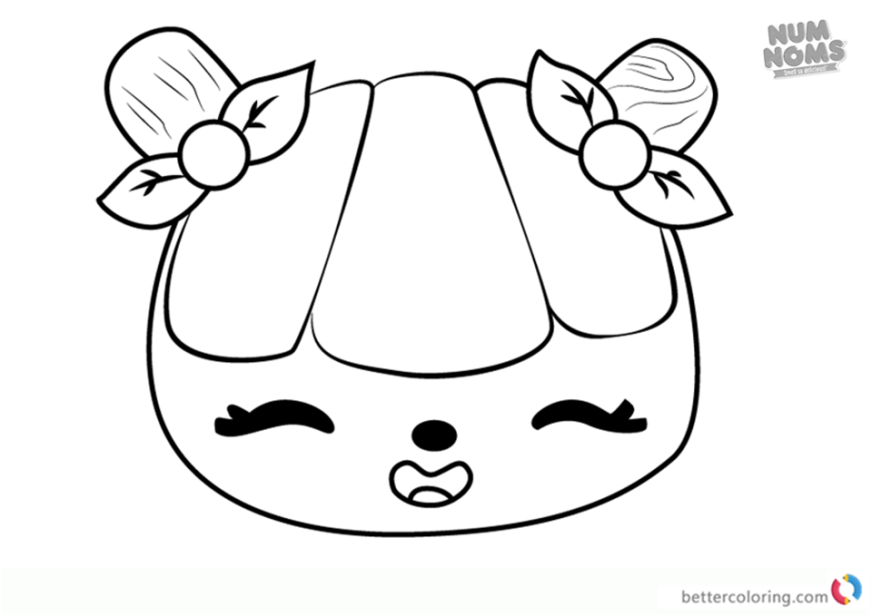 num noms series 2 coloring pages