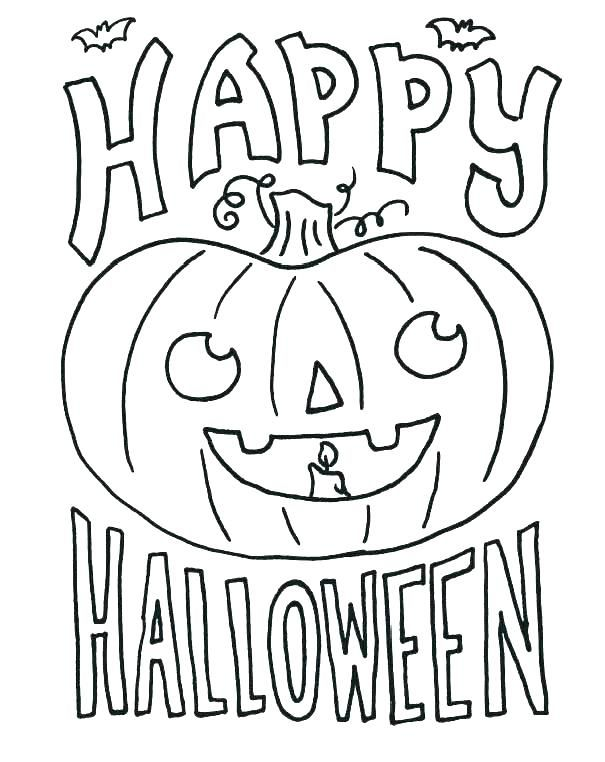october coloring pages malvorlagen halloween herbst