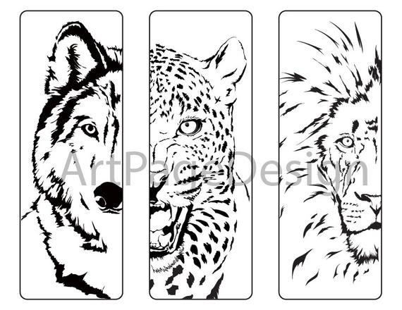 oloring pages animals wolf cheetah lion coloring pages for adults coloring bookmark coloring page pdf jpg