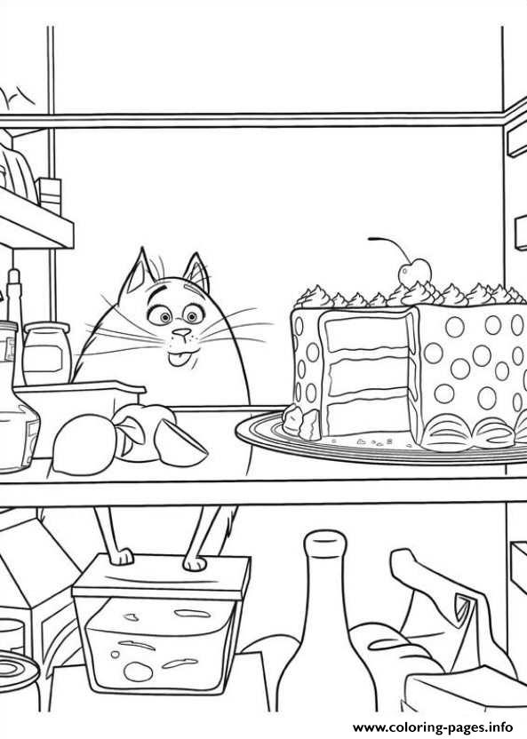 omg too much food secret life of pets coloring pages printable