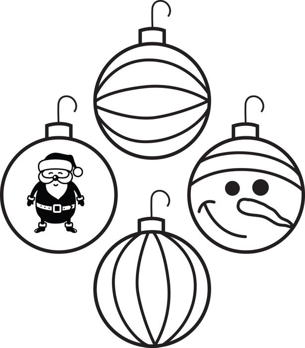 ornament coloring page at getdrawings free for