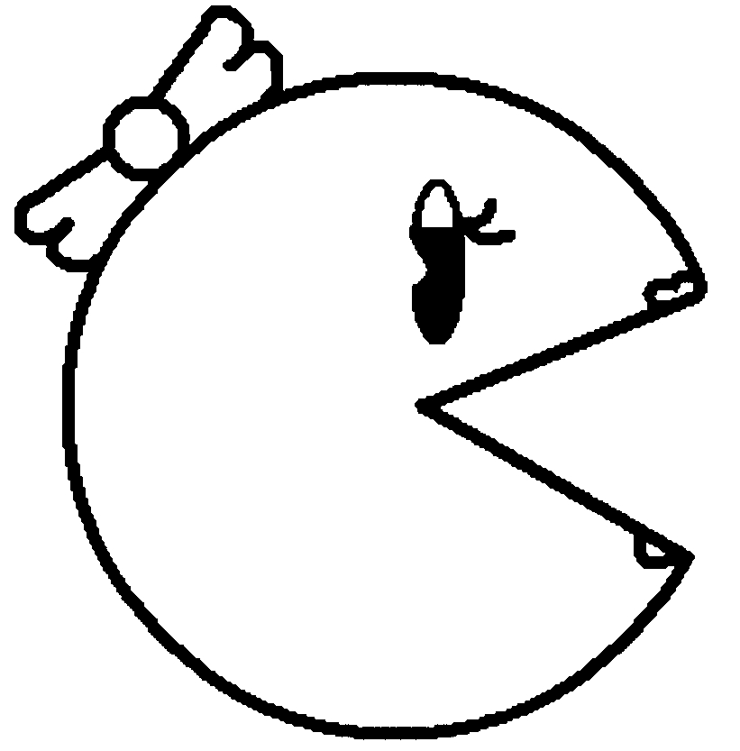 pac man coloring pages to print at getdrawings free