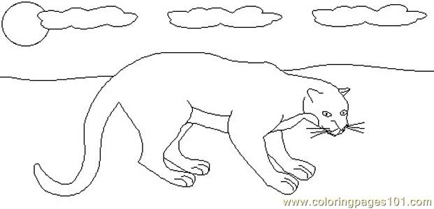 panther coloring page free panther coloring pages