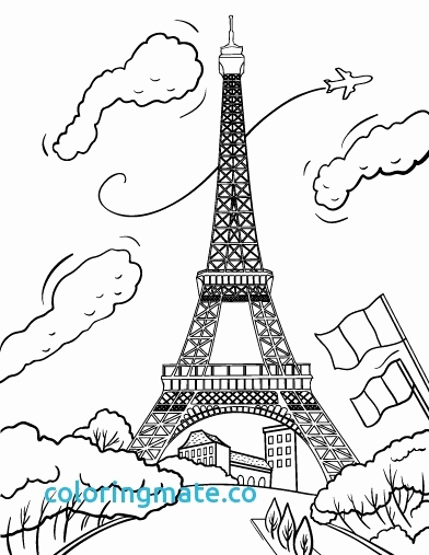 paris coloring pages for kids at getdrawings free for