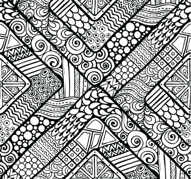 pattern coloring pages for kids at getdrawings free