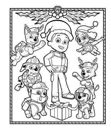 paw patrol snow coloring pages paw patrol winter rescues