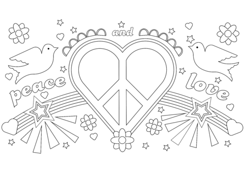 Love Coloring Pages Pictures - Whitesbelfast