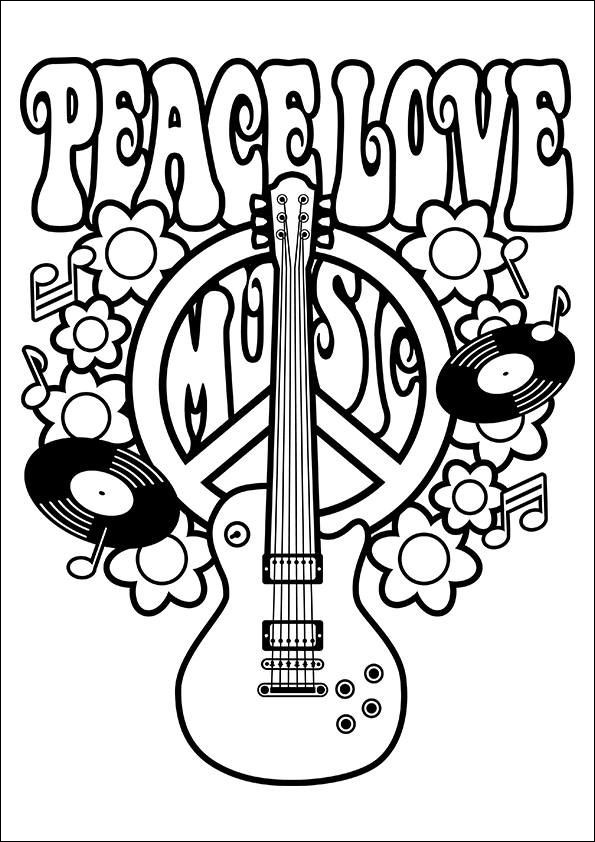 peace coloring sheet unique image free printable peace sign