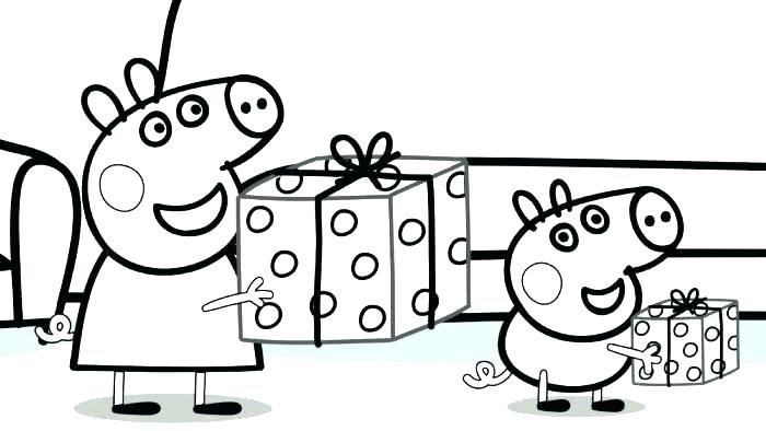 peppa pig coloring pages for kids at getdrawings free