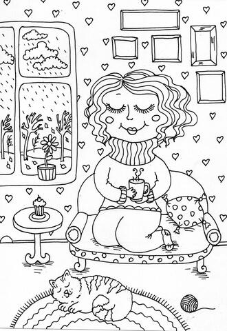 peppy in november kifest free printable coloring pages