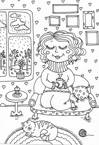 peppy in november kifest free printable coloring pages