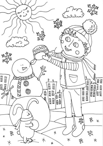 peter boy in january coloring page free printable coloring
