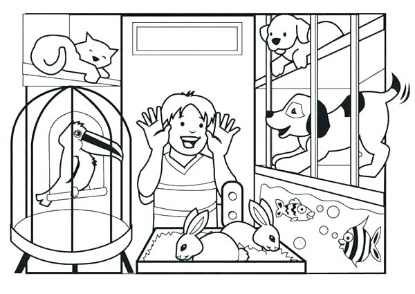 pets coloring pages best coloring pages for kids