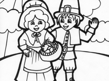 pilgrims coloring pages free at getdrawings free for
