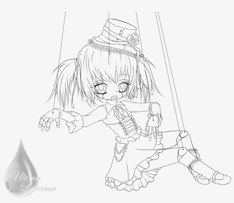 pin clara walker on art creepy coloring pages of anime