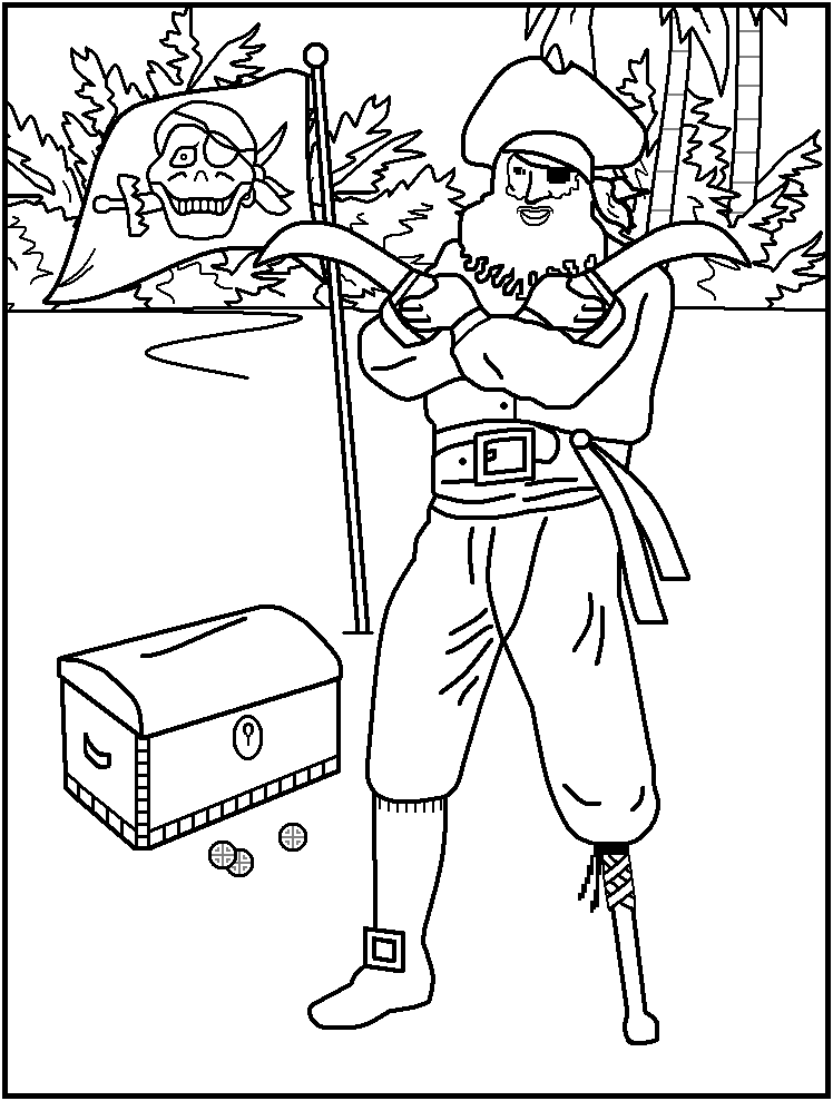 pirate coloring pages for toddlers coloring page pirates