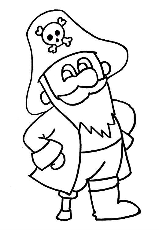 pirate coloring pages pirate coloring pages easy drawings