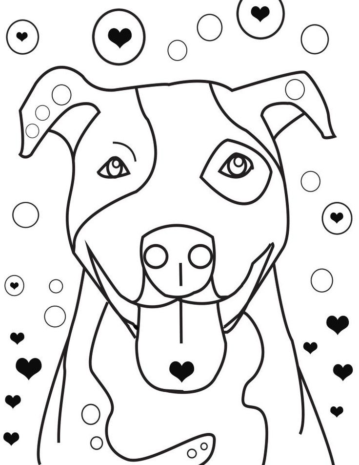 pitbull coloring pages coloring pages malvorlagen wenn