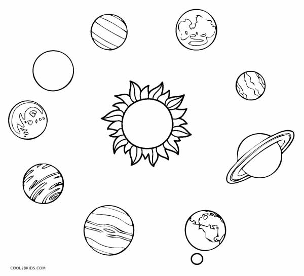 planets of the solar system coloring pages kaigobank