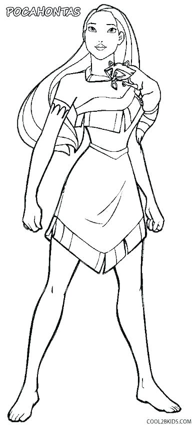 pocahontas coloring page pages book dieaiclub