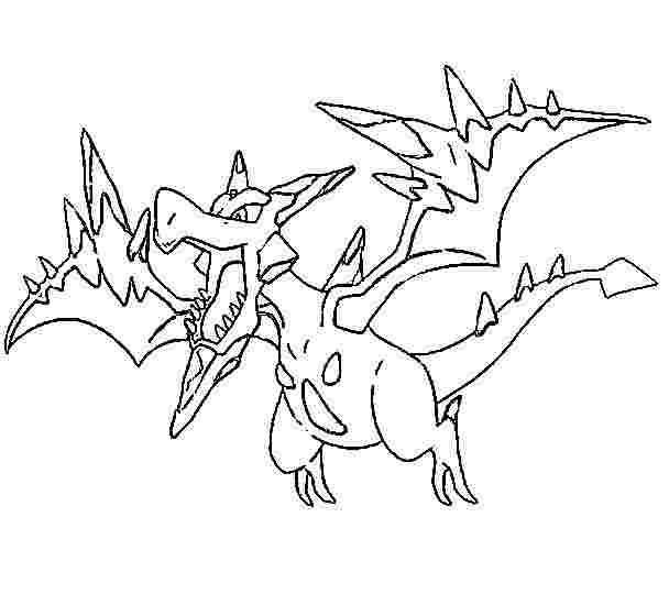 pokemon coloring pages tyranitar pupitar coloring page free