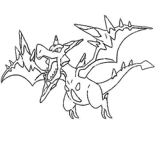 pokemon coloring pages tyranitar pupitar coloring page free