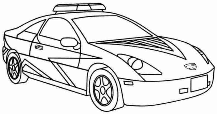 police car coloring pages printable police car coloring