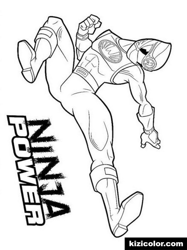 power rangers 9 kizi free coloring pages for children
