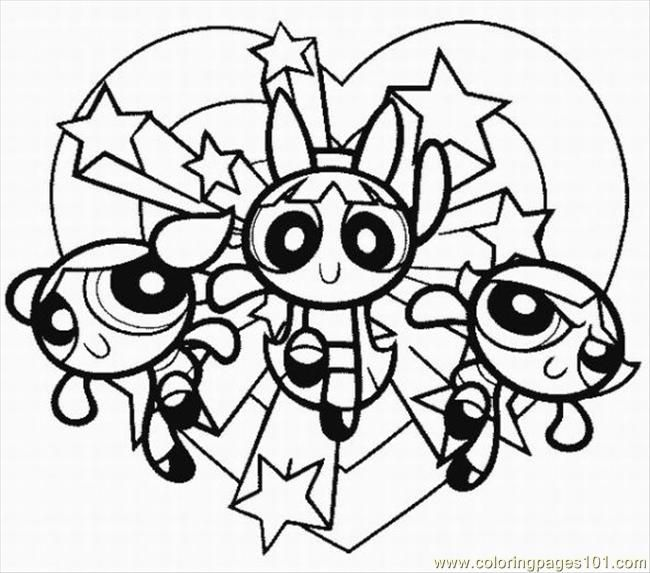 powerpuff girls coloring pages coloring pages for girls