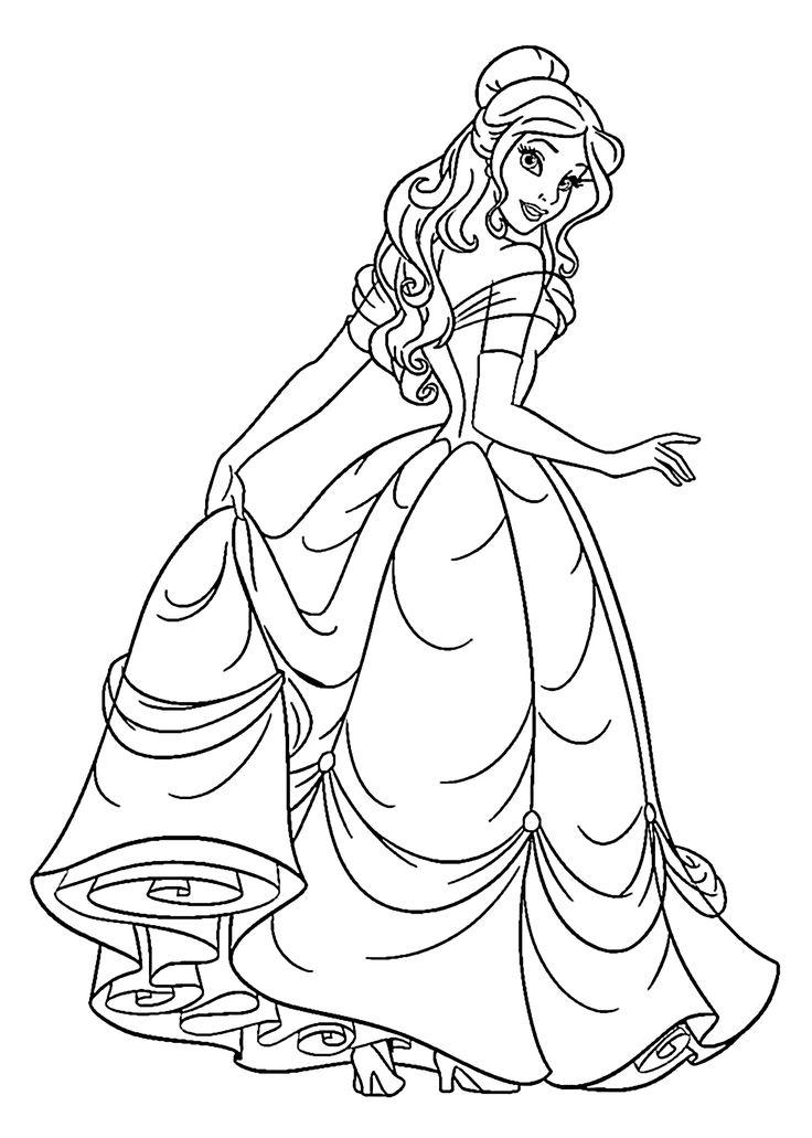 princess clipart coloring picture 182199 princess clipart