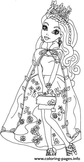 print ashlynn ella legacy day ever after high coloring pages