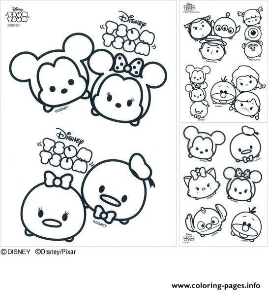 print disney tsum tsum coloring pages tsum tsum coloring