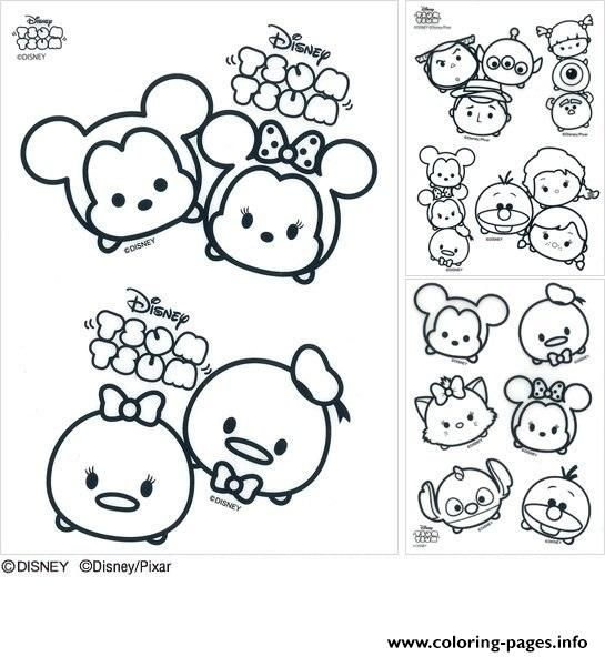 print disney tsum tsum coloring pages tsum tsum coloring